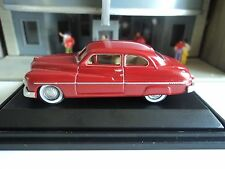 Oxford  1949  Mercury    Pirate Red     1/87   HO   diecast car