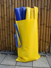 Gassen Softstangen Bodenarbeit 8St. (4xblau, 4xgelb) mit Tasche 310cm x10cm x2cm