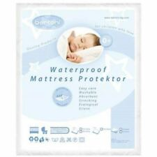 NEW WATERPROOF BABY COT CRIB CRADLE BED MATTRESS PROTECTOR SHEET WASHABLE COVER