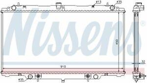 NISSENS (62953A) Wasserkühler, Motorkühler, Kühler für NISSAN