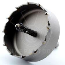 75mm Steel Metal Hole Saw Tooth Carbide Tip TCT Drill Bit Fiberglass Aluminum