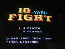 Nintendo Playchoice 10 10-Yard Fight Cart Pc-10 Football