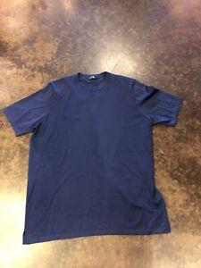 Cesare Attolini Blue Cashmere Silk T 46/56 XXL