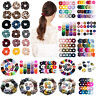Velvet Scrunchies Hairband Women Elastic Hair Ties Rope Ring Ponytail Holder Lot
