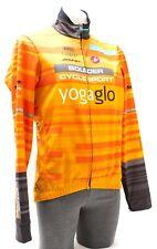 Castelli Espresso 3 Thermal Cycling Jacket Men SMALL Orange Road Bike Cyclocross