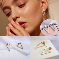 Fashion Simple Jewelry Metal Statement Dangle Drop Earrings Big Gold Geometric