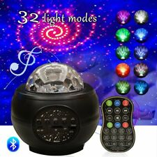 LED Galaxy Starry Night Light Laser Projector Ocean Star Sky Party Speaker Lamps