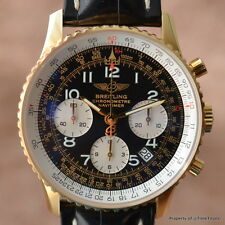 BREITLING NAVITIMER K23322 18K YELLOW GOLD COSC Cal B23 41.5MM LIMITED 500 PANDA