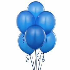 20  Pcs Blue Birthday Wedding Baby Shower Party Pearl Latex Balloons 10""
