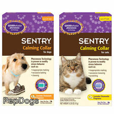 SENTRY Good Behavior Pheromone Calming Dog Cat Collar Separation Anxiety Stress