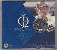SEALED 2012 FIVE POUND CROWN DIAMOND JUBILEE LARGE PACK