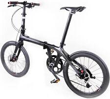 """20"""" Folding Bike Road Bicycle Shimano 10 Speed Disc Brake only 10.18kg full bike"""