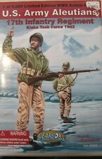Gearbox #90833 L/E  US Army Aleutians 17th Infantry Regiment Kiska 1943  NRFB