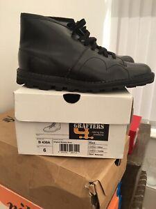 grafters monkey boots U.K. Size 6 In Black