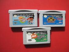 Game Boy Advance Video Lot of Vol 1. Games All Grown Up Kids Next Door Nicktoons