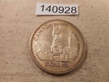 1858-1958 Canada One Dollar Collector Grade Album Coin - # 140928 Totem Pole