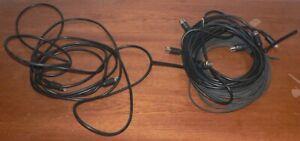 4 Stück Powerlink Kabel schwarz mit 8 Pinnen für Bang and Olufsen Anlagen :-)
