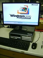 Compaq Evo D500 SFF - Pentium 4 @ 2.00GHz, 256MB, 80GB, Windows 2000, Kbd/Mouse