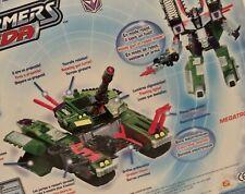 Transformers Armada Megatron with Leader-1 Mini-Con Figure, New in Box
