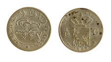 s1170_268) NETHERLANDS INDIES - INDIE OLANDESI 1/10 GULDEN  AG 1858