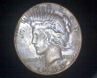 1935-S PEACE SILVER DOLLAR #17637