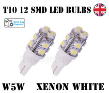 2X T10 CANBUS LED BULBS 12SMD 501 CAR SIDELIGHTS INTERIOR AUDI BMW FORD MERCEDES