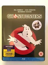 NEW Ghostbusters 1984 Bluray Steelbook OOP Limited Edition Bill Murray Blu-ray
