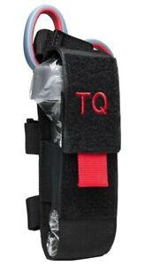 VISM Tourniquet & Tactical Shear Pouch MOLLE Medic Gear First Aid Responder BLK-