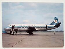 KLM Royal Dutch Airlines Vickers Viscount 803 Postcard