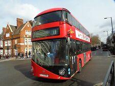 New bus for London - Borismaster LTZ1058 Go Ahead London 6x4 Quality Bus Photo