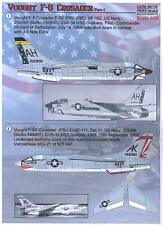 Print Scale Decals 1/48 VOUGHT F-8 CRUSADER U.S. Navy Jet Fighter