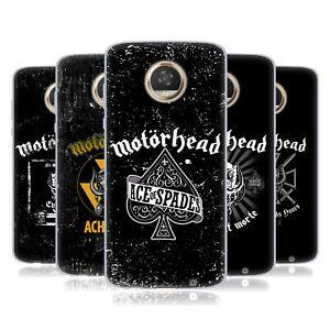 OFFICIAL MOTORHEAD LOGO GEL CASE FOR MOTOROLA PHONES