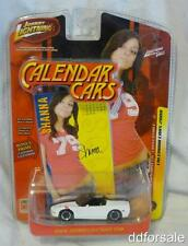 2002 Chevy Corvette From Johnny Lightning 2008 Calendar Cars Limited Edition