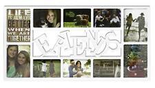 Friends Fotorahmen, Freunde Bilderrahmen XL, weiß, Collage 10 Fotos Galerie Bild
