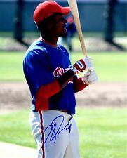 Signed 8x10 Pablo Ozuna Philadelphia Phillies Autographed photo - Coa