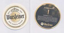 1 WARSTEIN - WARSTEINER  (EXPORT) BIERDECKEL BEERCOASTERS  (19220)
