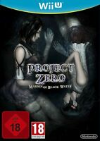 Project Zero Maiden of Black Water PAL Wii U Game *VGWC!* + Warranty!