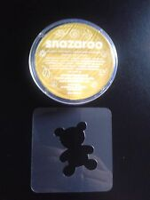 Yellow teddy bear face painting set reusable many times fundraising