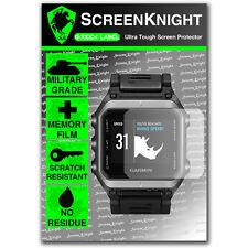ScreenKnight Garmin Epix SCREEN PROTECTOR invisible military Grade shield