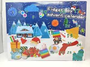 CHRISTMAS ADVENT CALENDAR FIDGET TOY IN STOCK ACTIVITY SET XMAS GIFT