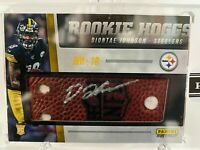 1/1❄️ Diontae Johnson 2019 Instant ROOKIE HOGGS Relic Auto RC STEELERS Encased⛲️