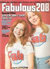 FABULOUS 208 25 May 1974 UK magazine  Paper Lace, Queen,Donny Osmond