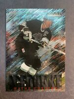 1995-96 Fleer Skybox Impact Ice quake #6 Of 15 Wayne Gretzky LA Kings Insert