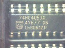 74HC4053D Triple 2-channel analog multiplexer/demultiplexer SMD SO-16 Philips