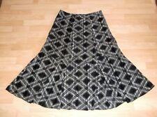 Full Length Polyester Checked Hippy, Boho Skirts for Women