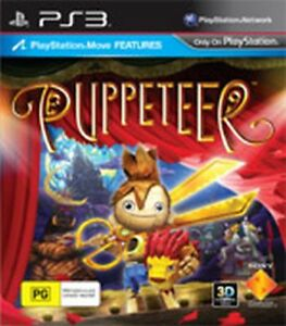 Puppeteer Game For Sony PS3 Brand New Sealed Case