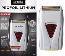 Andis Profoil Lithium Titanium Foil Shaver #17150 Professional Hair Salon Barber