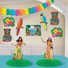 Hawaiian Luau Room Decoration Kit Birthday Celebration Party