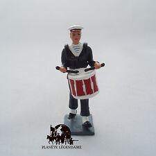 Figurine Collection CBG Mignot Tambour Marin Bagad Lann Bihoué Tenue Hiver