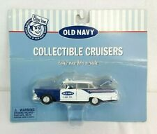 Old Navy COLLECTIBLE CRUISERS 1957 Ford Fairlane CAB CO. Taxi 1:43 Diecast Car